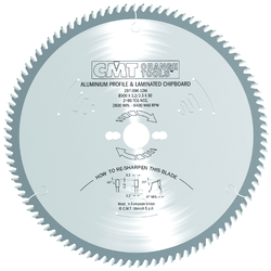 Серии 296 и 297 пилы по цветным металлам и ламинированным панелям CMT Дисковые пилы Инструмент