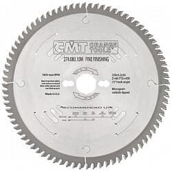 Серия 274 XTREME пилы для чистового поперечного реза CMT Дисковые пилы Инструмент