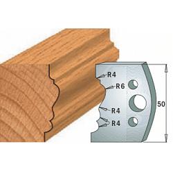 Комплекты ножей и ограничителей серии 690/691 #511 CMT Ножи и ограничители для фрез 50 мм Ножи